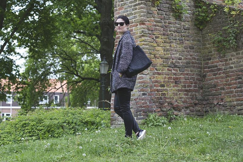 H&m Bouclé Coat Alexander