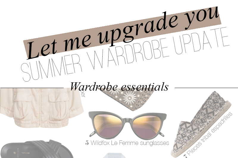 LET ME UPGRADE YOU | TheChicItalian | Items that will instantly upgrade your summer wardrobe