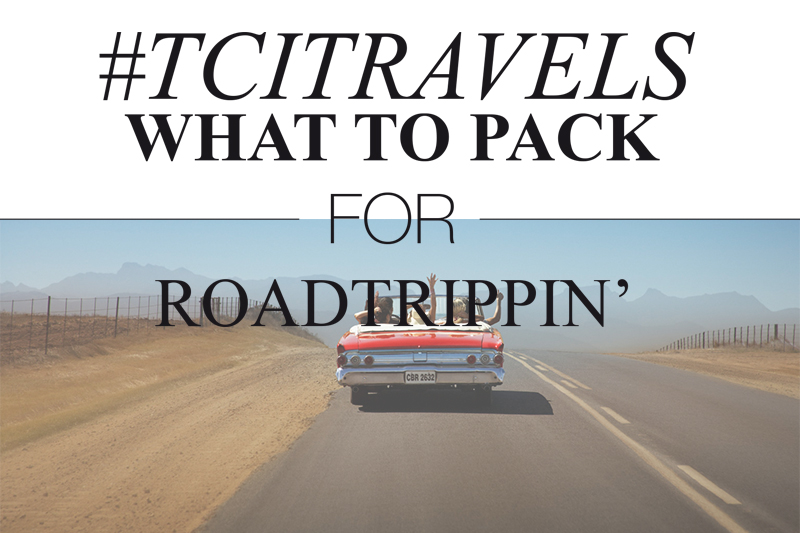 ROAD TRIP PACKING LIST | TheChicItalian | Perfect packing list for road trippin'