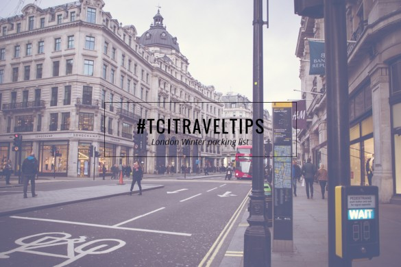 WHAT TO PACK FOR LONDON | TheChicItalian | My London Winter packing list based on my latest trip to the city