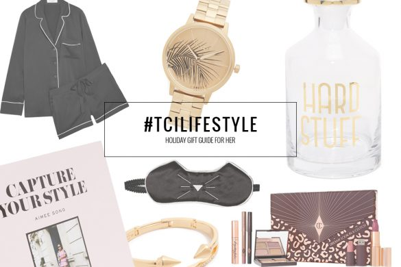 HOLIDAY GIFT GUIDE FOR HER || THECHICITALIAN || 10 gift ideas for the upcoming holiday season