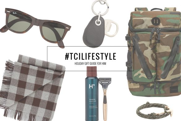 HOLIDAY GIFT GUIDE FOR HIM || THECHICITALIAN || 10 gift ideas for the upcoming holiday season
