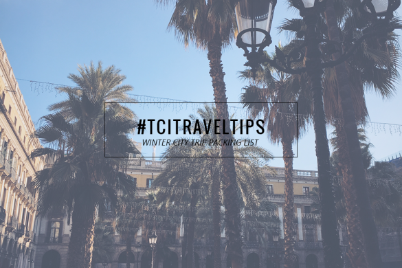 WINTER CITY TRIP PACKING LIST || THECHICITALIAN || My packing list to packing light for your next Winter getaway