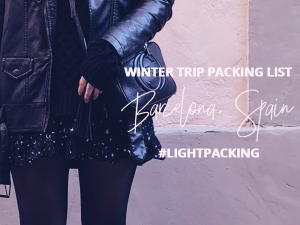 WINTER PACKING LIST || THECHICITALIAN || My packing list to packing light for your next Winter getaway