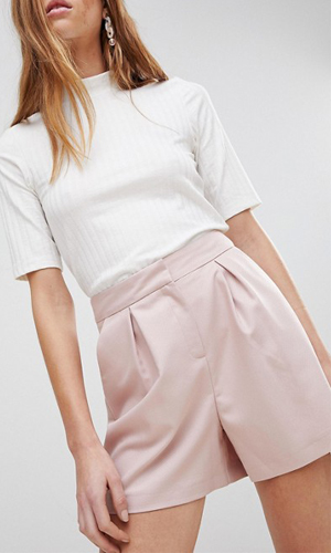ASOS DESIGN tailored mini jacquard short | ASOS