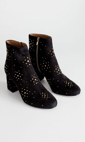Dome Studded Suede Boots | & Other Stories
