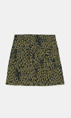 Leopard Mini Skirt | Zara