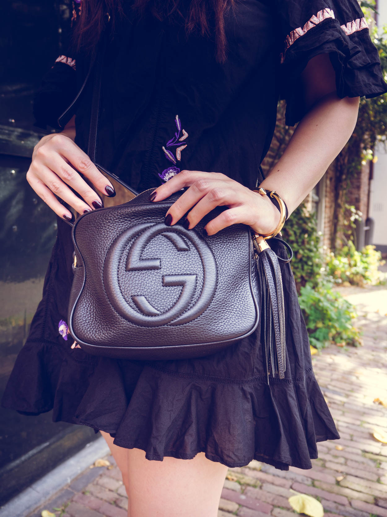 WHAT'S IN THE BAG: GUCCI DISCO BAG | THECHICITALIAN | An in-depth Gucci Disco bag review