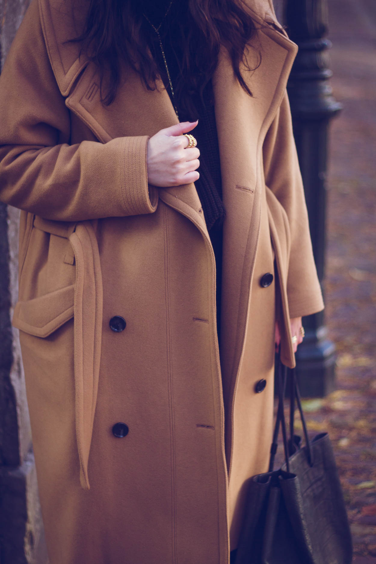 5 FALL COATS YOU WANT TO INCORPORATE IN YOUR CURATED WARDROBE | THECHICITALIAN | The wool camel coat is glamorous and a fall winter staple