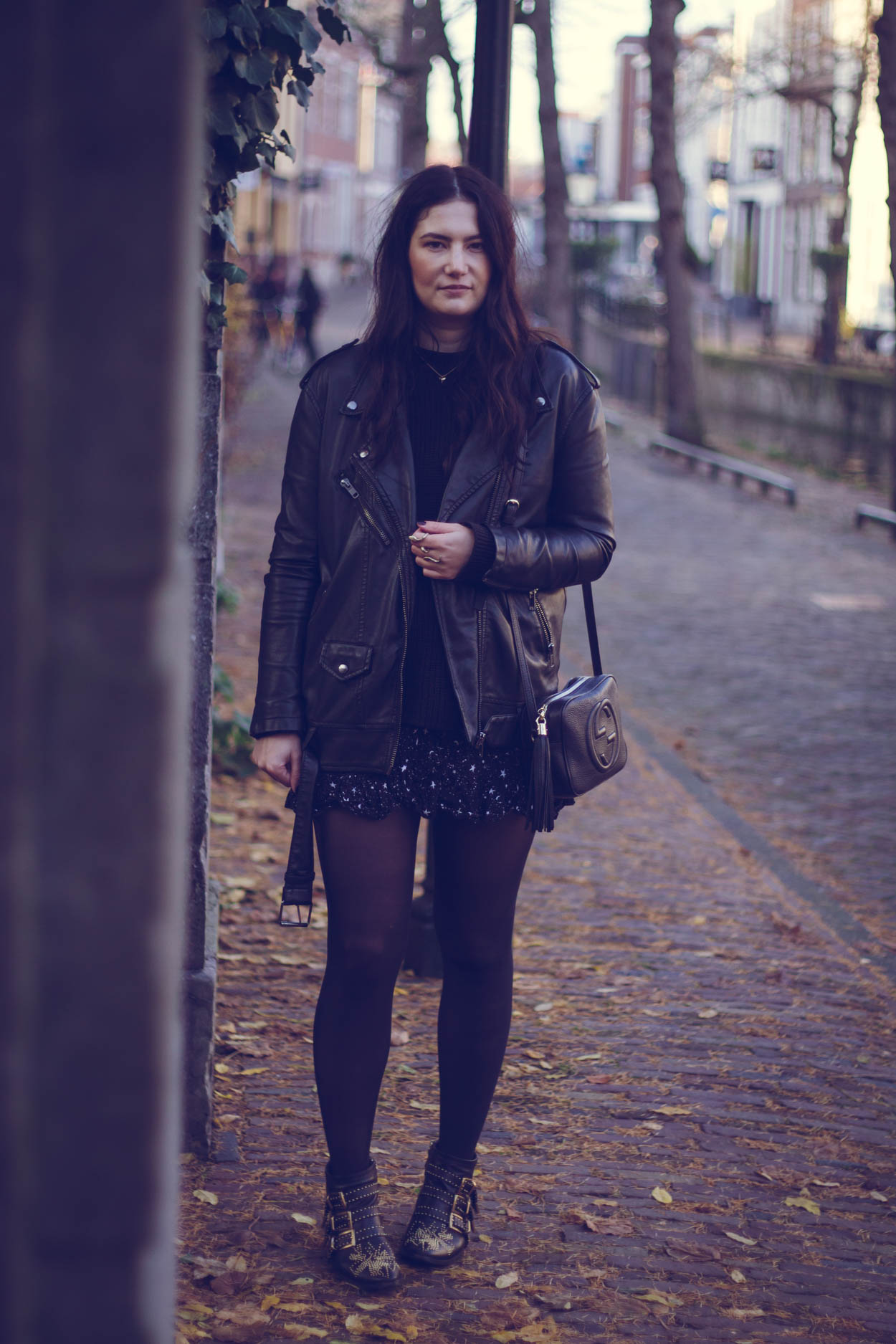 5 FALL COATS YOU WANT TO INCORPORATE IN YOUR CURATED WARDROBE | THECHICITALIAN | The leather jacket is the ultimate classic fall winter coat