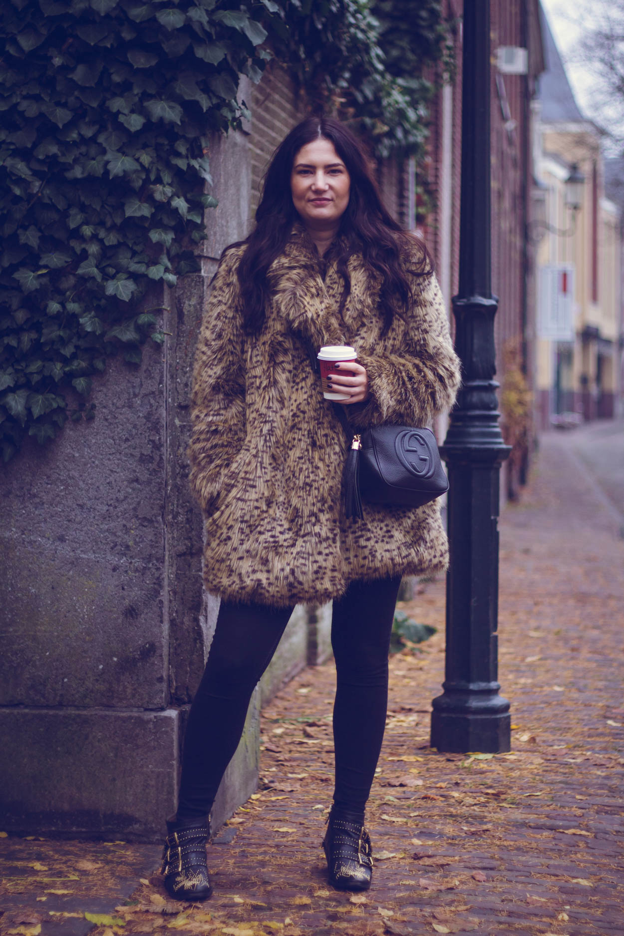 5 FALL COATS YOU WANT TO INCORPORATE IN YOUR CURATED WARDROBE | THECHICITALIAN | Leopard is a neutral which makes the leopard fur coat a classic staple