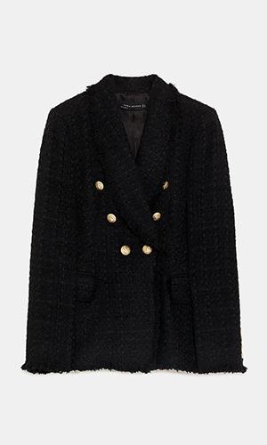 Tweed Blazer | Zara