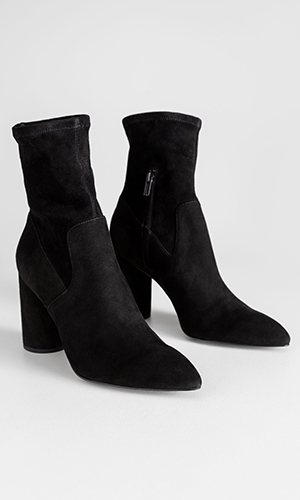 Suede sock boots | & Other Stories