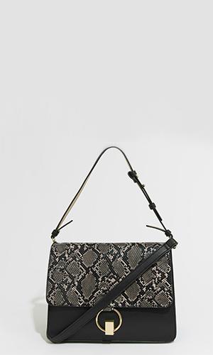 Croc print bag | Warehouse