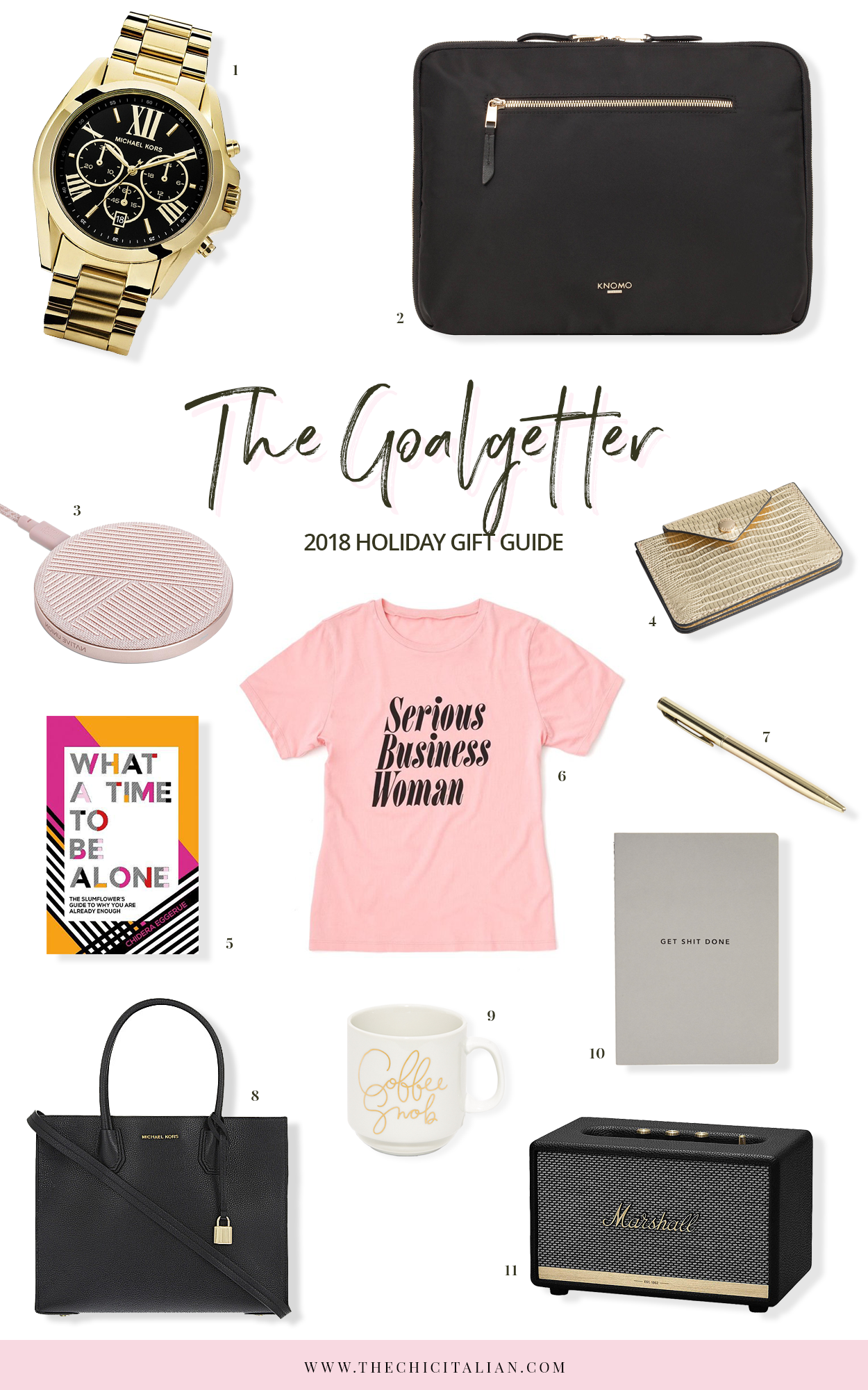 HOLIDAY GIFT GUIDE 2018 | THECHICITALIAN | The gift guides for the women in your life
