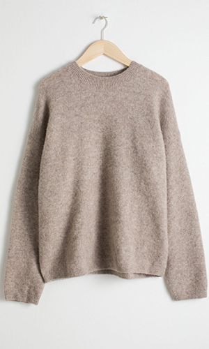 Oatmeal wool sweater | & Other Stories