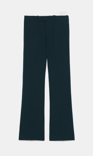 Dark green trouser suit | ZARA