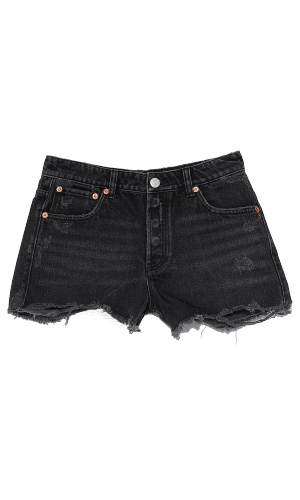 DARK WASH DENIM SHORTS | ZARA