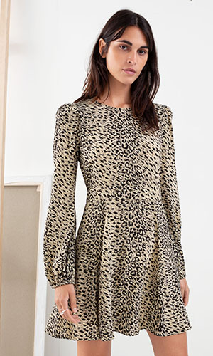 Leopard mini dress | & Other Stories
