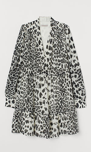 Snow leopard dress | H&M